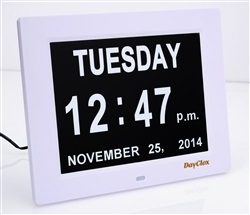 Dementia Patient Digital Calendar Day Clock