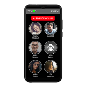 Memory Picture Cell Phone for Seniors