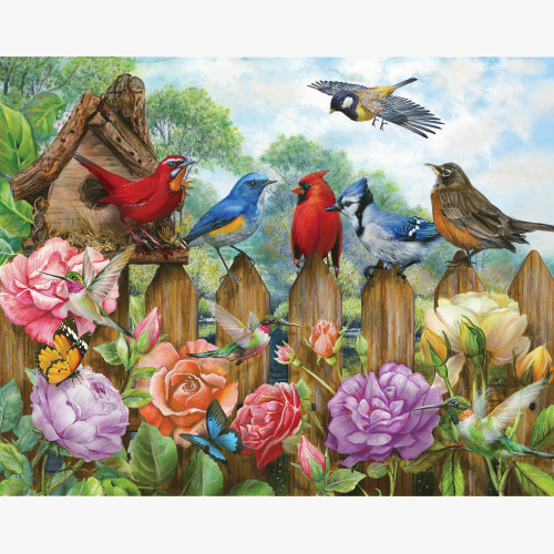 Bird House Puzzle for Alzheimer's