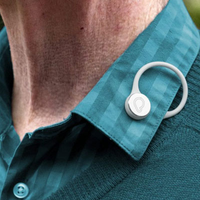Bluetooth wandering prevention button for Alzheimer's, Dementia and Autism