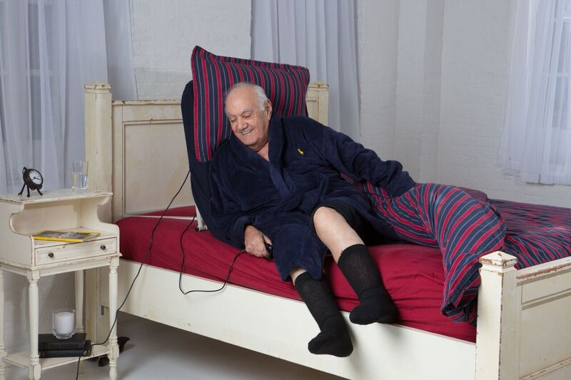 Abelift Portable Bed Recliner Helps Seniors Get Out Of Bed