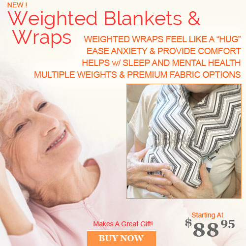 Weighted Blanket Alzheimers Anxiety and Stroke