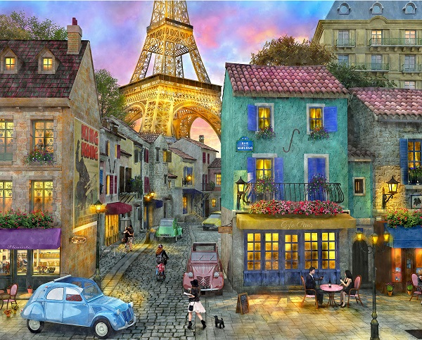 Paris Puzzle for Alzheimer's