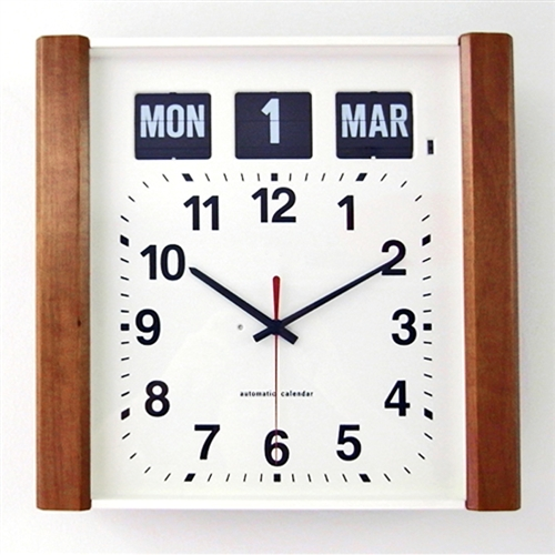 Day And Date Flip Clock For Alzheimer S Easy Read Wall